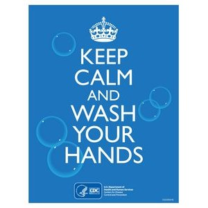 CDC approved Stock Posters | Hand washing series (8.5x11)
